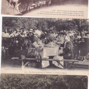 Lot-de-6-cartes-postales-anciennes-de-Noces-Bretonnes-0